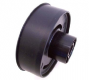 "Plastic Outer Block to suit 4"" 16swg round steel tube / 5/8"" steel shaft"